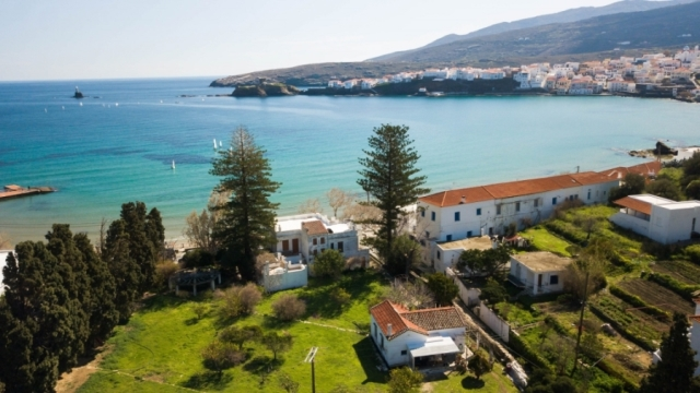 (For Sale) Land Plot out of Settlement || Cyclades/Andros Chora - 11.000 Sq.m, 3.000.000€